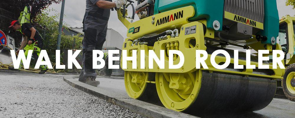 Ammann Walk Behind Roller Collection