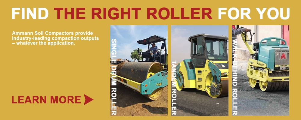 Ammann compaction roller collection